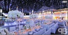 wedding decor ideas how to create a winter wonderland wedding winter wonderland wedding decorations Wedding Night, Wedding Ceremony, Wedding Venues, Dream Wedding, Light Wedding, Wedding Lighting, Wedding Table, Wedding Ceiling, Wedding Blog