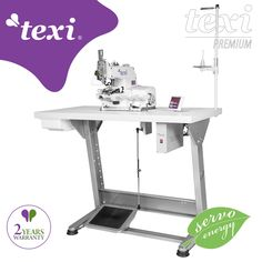 Texi X Premium EX - Button sewing machine with electronic selection of stitches number and built-in AC Servo motor - complete sewing machine with 2 years warranty. #texisewing #sewingmachine #industrial