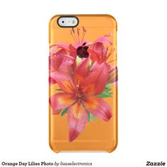 Orange Day Lilies Photo Uncommon Clearly™ Deflector iPhone 6 Case