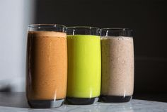 We asked Shom Chowdhury, founder of NYC's Indie Fresh, how to make three delicious workout smoothies: for the morning, midday and evening.