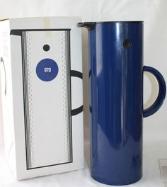 Stelton Thermos 1977 Magnussen Stainless Steel Jug Early Danish Modern Vintage #Thermos http://stores.ebay.com/The-Spicy-Senior?_rdc=1