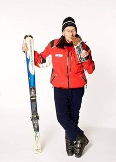 Seniors can have fun too - Alexander Rozental: 96-year-old Mountain Skier