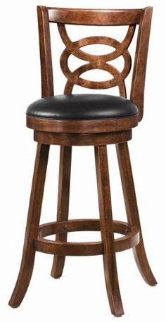 Bar Stools Swivel Upholstered Seat set of 2 Coaster Coaster
