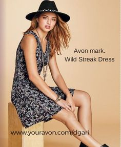 https://www.avon.com/product/mark-wild-streak-dress-57624?rep=dgari A fit-and-flare dress covered with a wild flower design. Go casual or dressy! #avon #dress #fashion #clothing