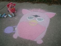 Artistic owner, artistic Furby