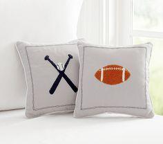 Sports Decorative Pillows | Pottery Barn Kids