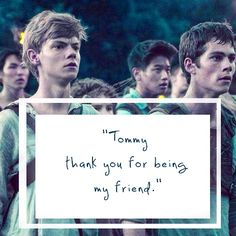 newt, thomas, and the maze runner