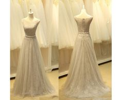 A-Line Classic Prom Dress,Sleeveless Prom Dress,Tulle Prom Dress With Appliques,Floor Length Prom Dress,PD0121 http://www.luulla.com/store/sofitdress