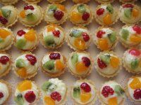 Snack Recipes, Cooking Recipes, Snacks, Mini Tart, Czech Recipes, Mini Cupcakes, Kids Meals, Food And Drink, Cookies