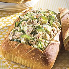 Tuna Salad With Lemon Aïoli | MyRecipes.com