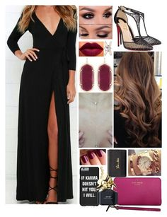 """{Après la Fête//Jaclyn}"" by leadingladyx17 on Polyvore featuring Christian Louboutin, Kendra Scott, Rebecca Minkoff, Kate Spade, Marc Jacobs and Luna Skye"