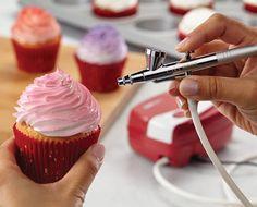 Cake Boss Decorating Tools Airbrushing Kit - Red