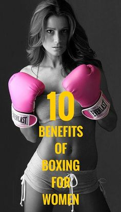 10 benefits of boxing for women