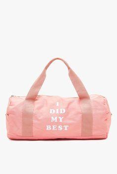 Bando - I Did My Best Gym Bag