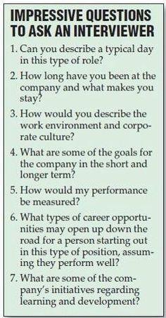 Interessante Fragen an Personaler; egal, ob Bewerber solche Fragen tatsächlich stellen, Personaler sollten die Antworten kennen ;-)