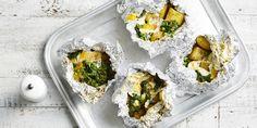 Indian Baked Potato Pockets via @iquitsugar