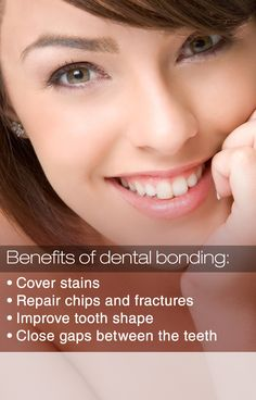Bonding is just one of many options for improving the health and appearance of your teeth. Call us at 415 881 4343 and schedule an appointment today.  #DentistSanFrancisco #BenefitsofDentalBonding