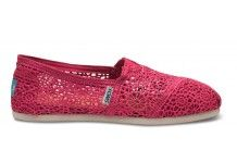 Toms crochet shoes