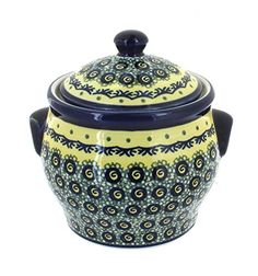 Polish Pottery Renaissance Small Canister >>> Click image to review more details.