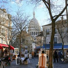 Montmartre : Place du Tertre | Flickr - Photo Sharing!
