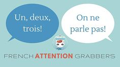 French Attention Grabbers - looking for fun and effective ways to grab your students' attention? Check out this list of French attention grabbers and add this strategy to your classroom management bag of tricks! French Teaching Resources, Teaching French, Teaching Ideas, Teaching Spanish, Classroom Activities, Learning Activities, Classroom Setup, Music Classroom, Communication Avec Les Parents