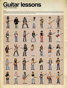 guitar lessons (a series of master classes)by maxim daltonfrank zappa, george harrison, slash, jimi hendrix, keith richards, jimmy page, stevie ray vaughan, eric clapton, mark knopfler, brian may, johnny ramone, jack white, the edge, chuck berry, angus young, pete townshend, tony iommi, eddie van halen, david gilmour, ace frehley, ritchie blackmore, duane allman, kirk hammett, carlos santana, john frusciante, yngwie malmsteen, kurt cobain, mike bloomfield, jerry garcia, ry cooder, bo…
