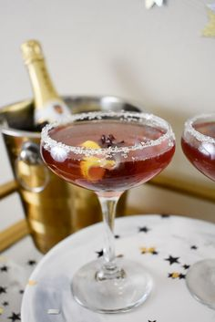 The hibiscus French 75 cocktail is a simple and festive spin on the classic gin and champagne cocktail. In addition to the recipe, check out 3 easy ways to step up your next champagne toast!