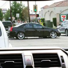 Car accident in LA.