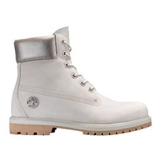 Timberland | Women's 6-Inch Premium Waterproof Boots ($170) ❤ liked on Polyvore featuring shoes, boots, waterproof boots, timberland shoes, water proof shoes, timberland boots and waterproof shoes