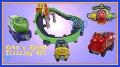 Spielzeug Eisenbahn für Kinder Chuggington Spielset Koko's Speed Trainin...