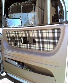 DIY car upholstery