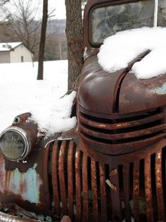 love rusty old things!!