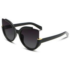 Cat eye sunglasses mujeres 2017 de alta calidad de diseñador de la marca de la vendimia moda lente gafas de Conducción Gafas de Sol De Las Mujeres UV400 sol