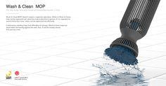 <Wash & Clean Mop> 한서대학교 신영진 레드닷 어워드 디자인컨셉 위너 수상