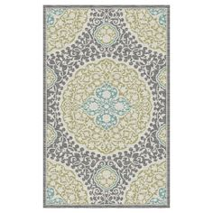 Shop Mohawk Home Tahj Gray Rectangular Tufted Area Rug (Common: 8 x 10; Actual: 96-in W x 120-in L) at Lowes.com