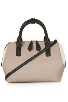 b069adcc62a8 mini angled holdall bag   topshop