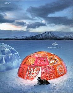 Hermès | Winter at last