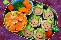 Page 14 - 15 Healthy Spring Lunch Ideas for Kids I Easter Bento Box Lunch Ideas - ParentMap