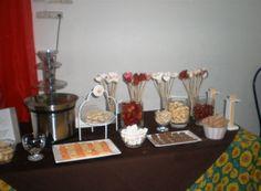 Cumpleaños infantil con fuente de chocolate By Dulcinea de la fuente www.facebook.com/dulcinea.delafuente  #fiesta #festejo #cumpleaños #mesadulce#fuentedechocolate #agasajo# #candybar  #tamatización #personalizado #souvenir #party box #regalos personalizados #catering finger food#catering de té y chocolate