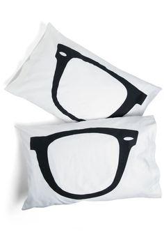 Shuteye to Eye Pillowcase | Mod Retro Vintage Decor Accessories | ModCloth.com