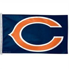 Chicago Bears Flag - 3 x 5 Bears House Flag