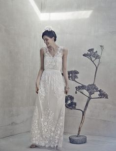 BHLDN_Sian_Gown...LOVE the detail placement