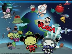 PUCCA IN SPACE