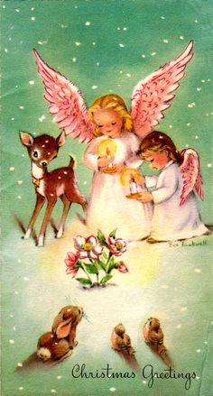 Little Angels and Little Animals from Clearly Vintage