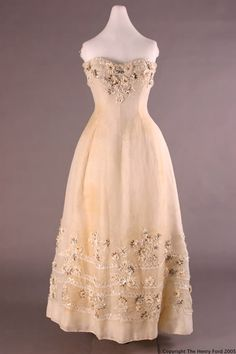 Ensemble           Dress with Stole, 1955  Christian Dior,  The Henry Ford Costume Collection