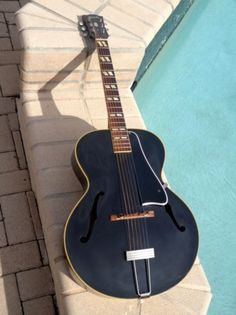"""1951 Gibson L-4 """"Special Order"""" Black"""