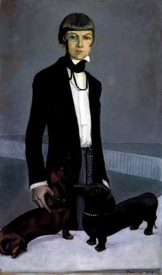 Lady Una Troubridge by Romaine Brooks, 1924