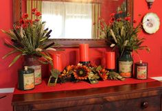 decorating for christmas on a budget | Fall Decoration on a budget for your dining room with a complete How ...