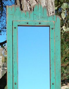 This Full-Length Barnwood Mirror is made of real pine wood. We have antiqued it to look old, like its been hanging out in the barn for years. Do you own a clothing shop? This mirror would be great for any dressing room or place in the home or business . Want to give a really unique gift to someone?...this will have the guest at the party talking asking where can they find one!!! Hang this mirror Horizontal or vertical. They are handmade so each everyone will look a little different from the…