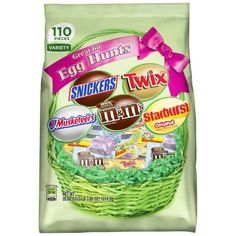 Variety pack #mms #snickers #twix #3musketeers great for #egghunts